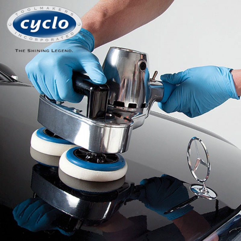 Cyclo 6ce exzenter poliermaschine polisher proguard for Fliesen polieren